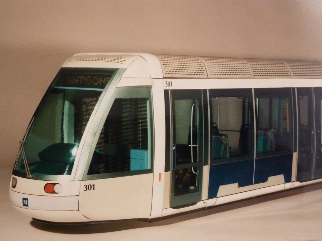 Tramway of Montpellier by Philippe and Johan Neerman