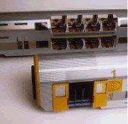 Johan Neerman Double-decker coaches type for the Belgian Railways by Philippe and Johan Neerman