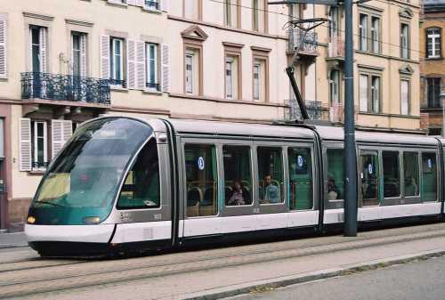 STRASBOURG tram system Johan Neerman
