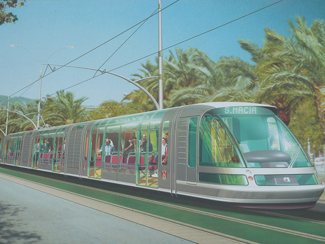 Barselona tramway Johan Neerman