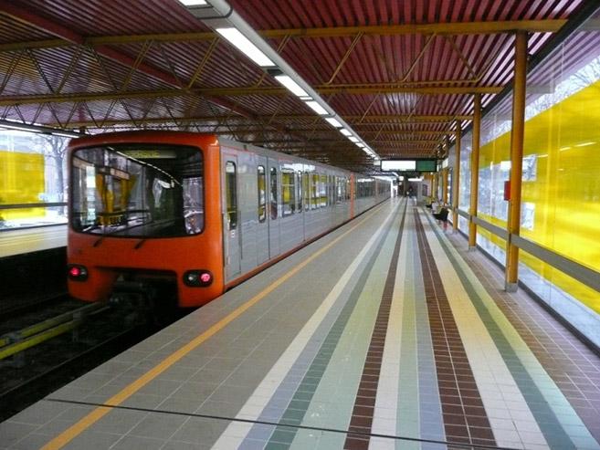 Metro of Brussels Johan Neerman