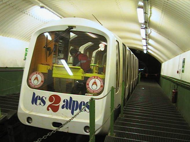 Funicular DEUX ALPES LOISIRS Johan Neerman