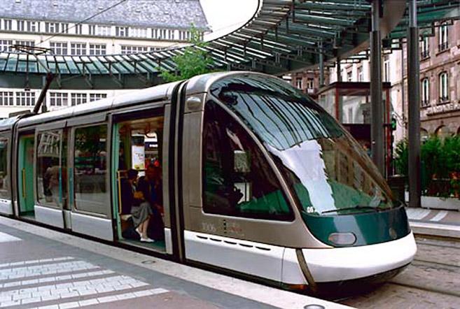 Johan Neerman STRASBOURG tram system – 1st line (1986-95)